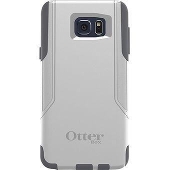 9e5b322c351 Estuche Carcasa Otterbox Commuter para Samsung Galaxy Note 5- Blanco con  Gris