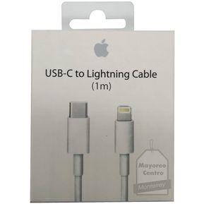 7c66c71d057 Cable Apple USB-C A Lightning / 1 Metro En Caja Sellada