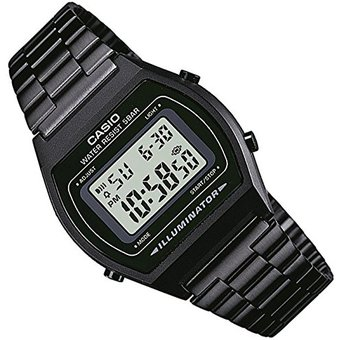 ceb5f55bd429 Compra Reloj CASIO Vintage B640 Caballero Acero Inoxidable-Negro ...