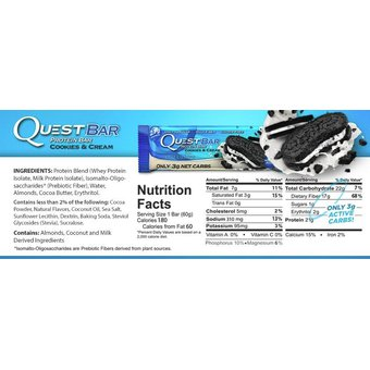 ea3aa90d2 Agotado Quest Nutrition