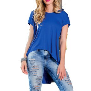 Blusa Adulto Marketing Personal Para Mujer Azul Electrico 3ca67d8ddbc6