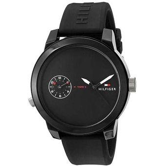 98be46f6ad45 Compra Reloj Para Caballero Tommy Hilfiger Denim Negro online ...