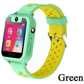 presentación profesional mejor calificado proveedor oficial Greentiger S6 reloj inteligente para niños LBS rastreador SOS llamada  cámara remota rastreador para niños relojes inteligentes seguridad para ...