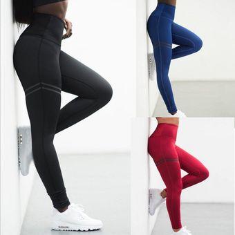 Para Mujer De Yoga De La Aptitud De Las Polainas Pantalones Correr Gimnasio Elastico Se Divierte Los Pantalones De Ejercicios En Doble Circuito Impreso Altas Polainas De La Cintura Linio Peru