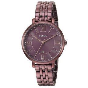 5c819db7fd46 Reloj Fossil Jacqueline ES4100 para Dama-Vinotinto