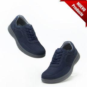 Zapatos Flexi 50604 Casual y Deportivos para Caballero - Azul 2168c69387f