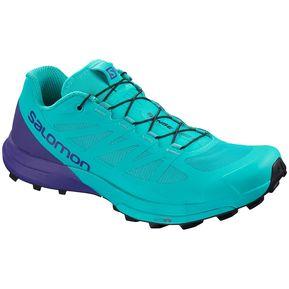 2c03319b7db Tenis Salomon Mujer Trail Running Sense Pro 3 Azul Morado