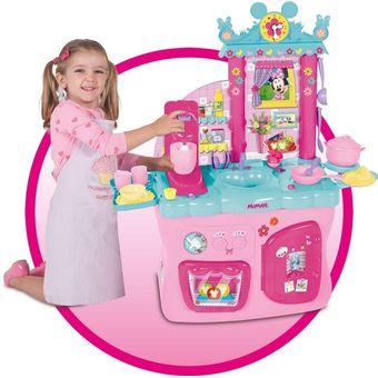Compra Juguete Cocina Infantil Nina Minnie Mouse Con Accesorios
