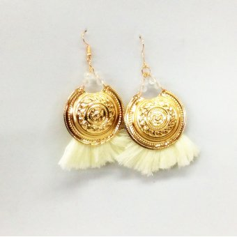 e049f47bfbfc Compra Aretes WOW Dorado Marfil online