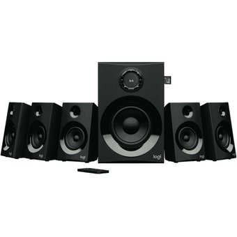 Sistema De Sonido 5.1 Logitech Z607 · 80 Watts Rms (reales)