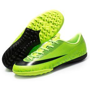 Calzado deportivo de fútbol para niños.-Verde 6d235e1d4e09a