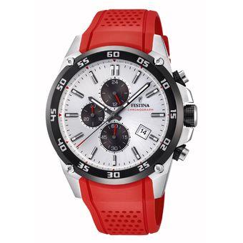 Reloj Hombre F20330/1 Rojo Festina