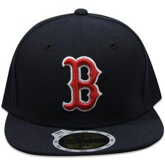 03396c65e0a45 Compra Gorra New Era 59 Fifty MLB Junior Red Sox Game Azul Marino ...