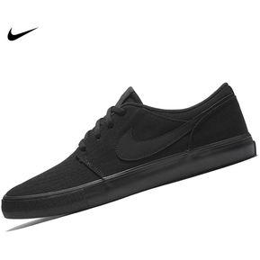 425ba16be Zapatilla Nike Portmore II Cnvs Para Hombre - Negro