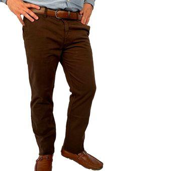 b71fcfd1e4 Compra Pantalon Drill Cafe Bota Recta Manpotsherd online
