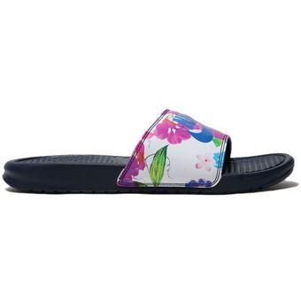 check out af517 ed6ba Sandalias Mujer Nike Benassi JDI-Multicolor