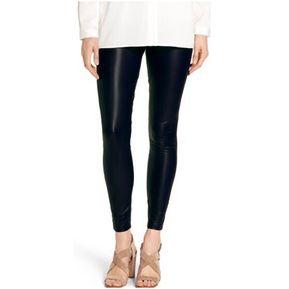 Leggins Pantalon Licra Imitacion Cuero Cuerina – Negro ff945ab9aec