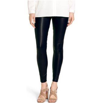 Compra Leggins Pantalon Licra Imitacion Cuero Cuerina – Negro online ... 76dce8f33c33