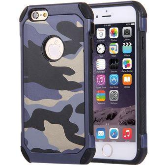 f1979dd052d Para El IPhone 6 Plus Y 6s Plus Patrones De Camuflaje Shock Resistant  Armadura Resistente PC