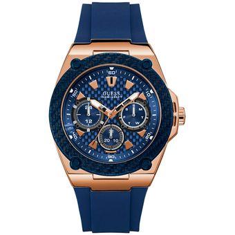 Compra Reloj GUESS Legacy W1049G2 Azul Para Hombre online  339cc831a51d