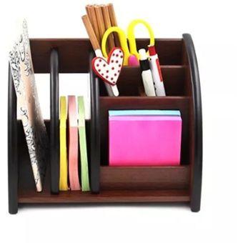 Compra organizador de madera para escritorio u oficina con - Organizador cajon oficina ...