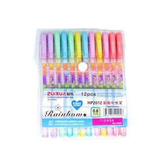 36 Pack De Niños Kids la mitad de tamaño pequeño Para Colorear Con Lápices De Colores-Artesanías