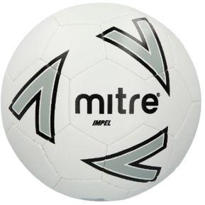 Agotado Balon Futbol Mitre New Impel N°4 Blanco Gris Negro c608a4f29a13f