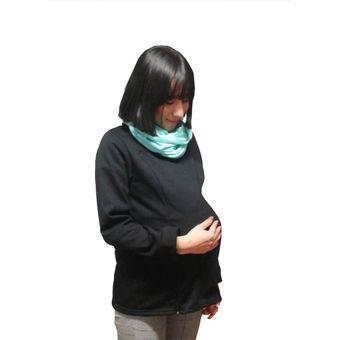 18b8de9f8 Compra Sudadera para embarazo y Lactancia Mami Ama Bebé - negro ...