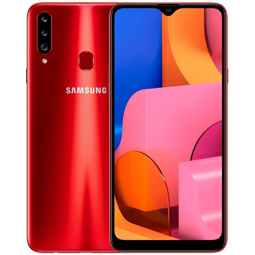 Samsung Galaxy A20S 32Gb 3 Ram 13Mp Rojo