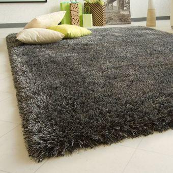 Compra alfombra shaggy soft color gris online linio chile - Alfombra gris ikea ...