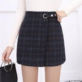 EY falda de cintura alta Slit adelgazamiento Longitud Rodilla-Negro c2ad29f64716
