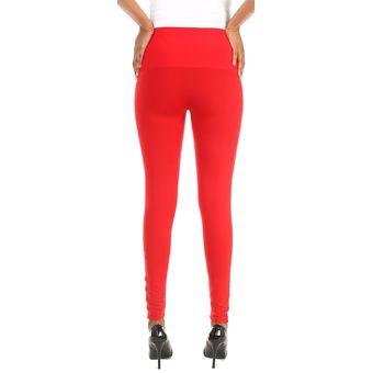 Compra Alessia Careci - Leggin Pretina Faja - Rojo online  6cac66858c11