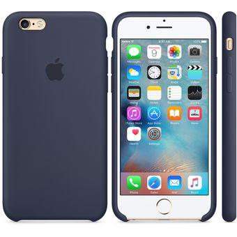 bf18eff5285 Compra Apple - Funda Silicone Case Para iPhone 7 - AZUL OSCURO ...