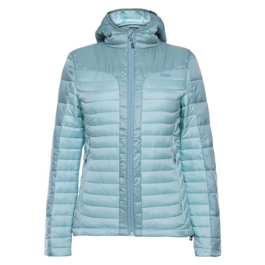 Chaquetas Mujer Bewarm Steam-Pro Hoody Jacket Verde Agua Lippi