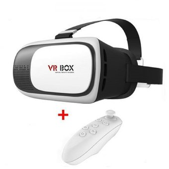 Compra Gafas Realidad Virtual 3d Vr Box Control Realidad