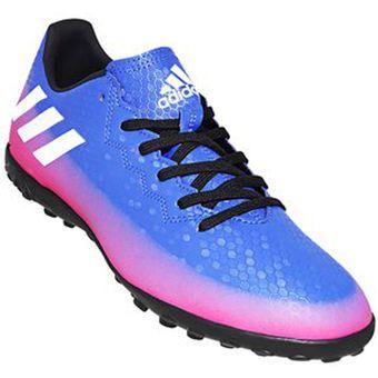 Calzado De Fútbol Adidas BA9024 Messi 16.4 TF - Blue Ftwr White Solar Orange 47e536a8e6681