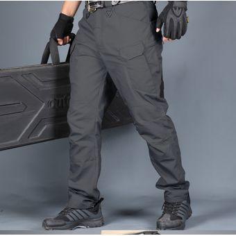 Pantalones Tacticos Delgado Multibolsillo Para Senderismo Gris Linio Peru Ch411sp173z3qlpe