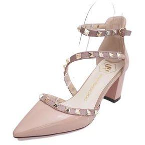 Zapatos de punta abierta formales Xti para mujer zyh555mt2