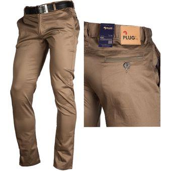 diseño innovador df105 dfd53 Pantalón en Drill Espandex bota media para Hombre - Camel