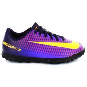 6f029df7af1a1 Zapatos Fútbol Niño Nike Jr Mercurial Vortex III TF -Morado