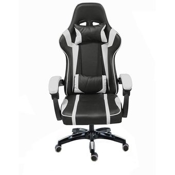 Gamer Blanco Ergonomica Silla Consola Pc Reclinable pMqSUzV