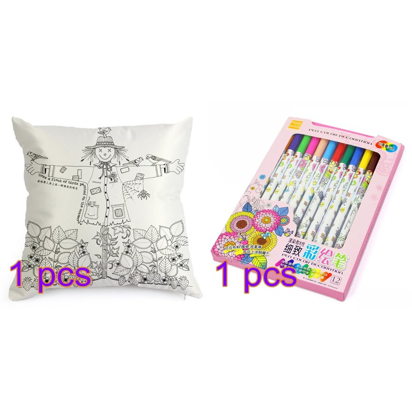 DeCompris.com | Compara DIY Graffiti Para Colorear Funda De Almohada ...