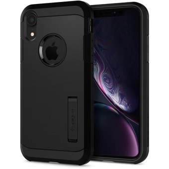 c74c1fee248 Compra Funda iPhone XR Spigen Tough Armor Negro online | Linio México