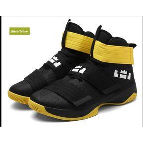 b18db70a51 Zapatillas De Baloncesto Hombre Zapatos Hombre Ultra Zapatillas-Amarillo