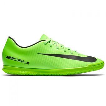 big sale 23905 b68dd Guayos Fútbol Hombre Nike MercurialX Vortex III IC -Verde