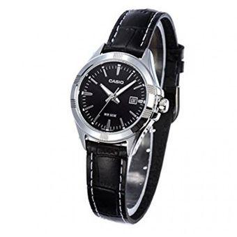 877358a68f52 Reloj Casio Mujer LTP-1308L-1A Análogo Indicador De Fecha Pulso Cuero