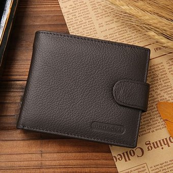 2158bbd9f Carteras De Los Hombres De La Manera Famosa Marca Billetera De Genuino  Cerrojo Carteras De Diseño