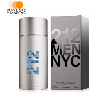 f708c8decc1cc Compra Perfume 212 Men Carolina Herrera Para Hombre 100 Ml online ...