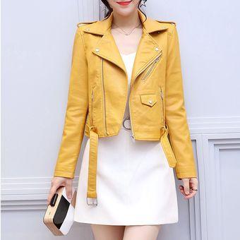 Chaquetas De Cuero Fashion Mujer Abrigo Compra New X1qnTST8