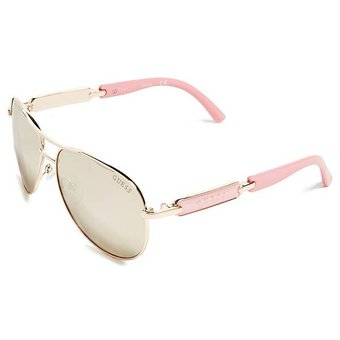 be3092e7540 Lentes De Sol Guess Aviador - Rosa